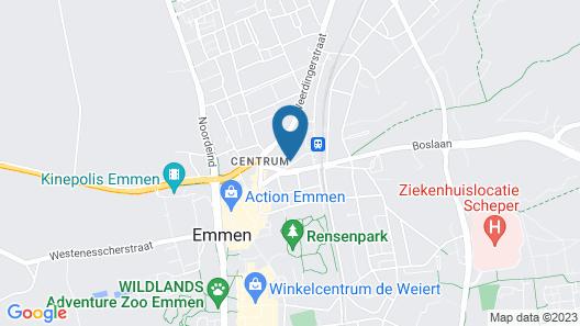 B&B Villa Emmen Map