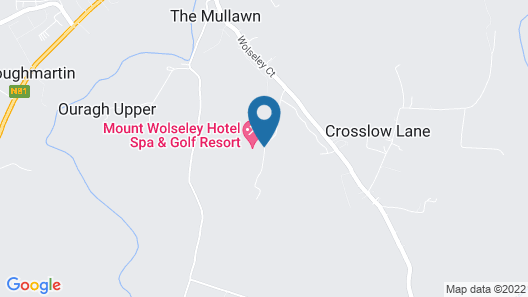 Mount Wolseley Hotel, Golf and Spa Resort Map