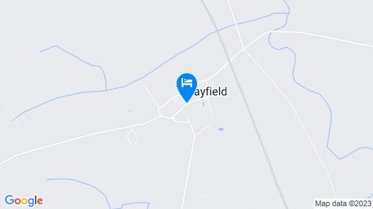 The Royal Oak at Swayfield Map