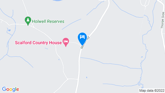 Scalford Country House Hotel Map
