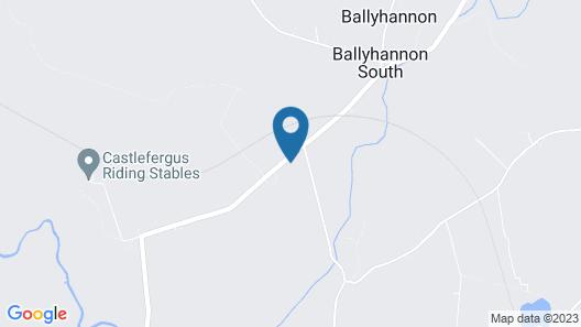 Castlefergus Lodge Map