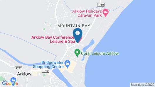 Arklow Bay Hotel Map