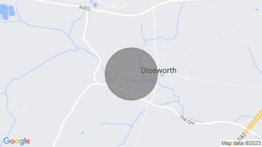 2-Zimmer-Unterkunft in Diseworth, in der Nähe von Derby Map