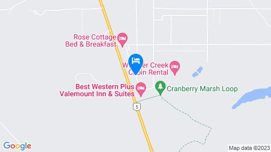 Whisper Creek Lodge  Map