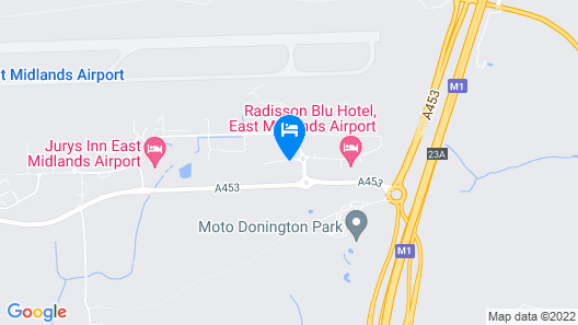 Holiday Inn Express East Midlands Airport Map