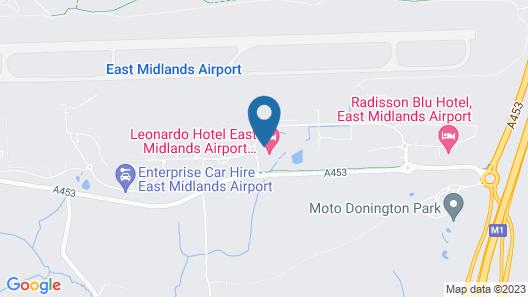 Jurys Inn East Midlands Airport (on - site) Map