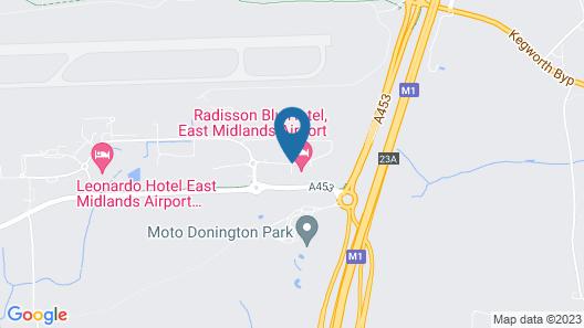 Radisson Blu Hotel East Midlands Airport Map