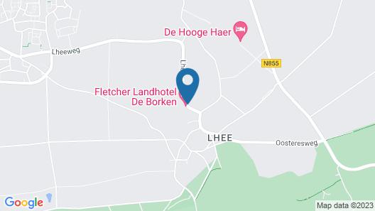 Fletcher Landhotel De Borken Map