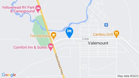 Super 8 by Wyndham Valemount Map