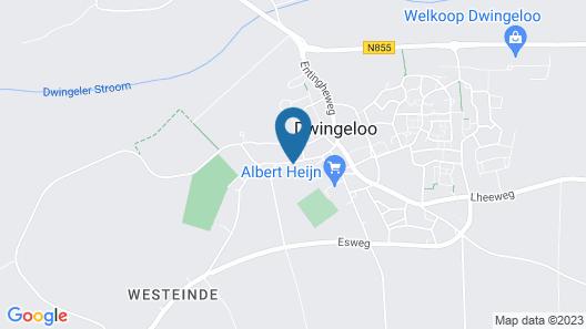 De Ster van Dwingeloo Map