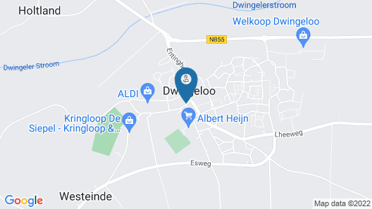 Hotel en Restaurant Wesseling Map