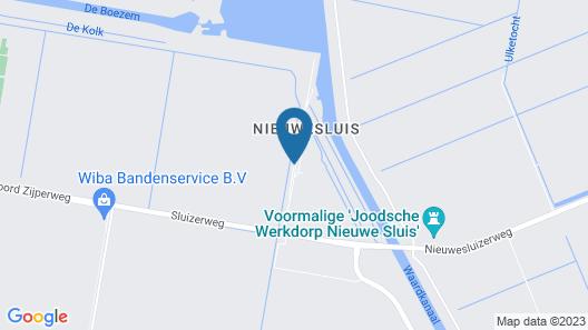 Appartementenboerderij Nieuwesluis Map