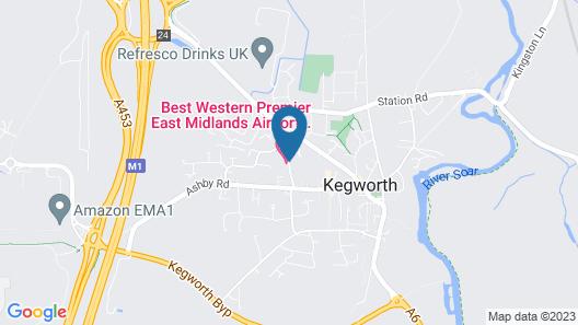Best Western Premier East Midlands Airport Yew Lodge Hotel Map
