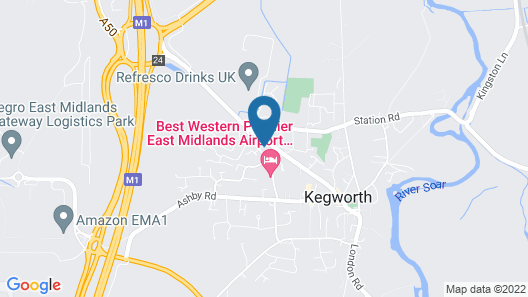 Kegworth Hotel & Conference Centre Map