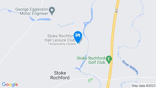 Stoke Rochford Hall  Map