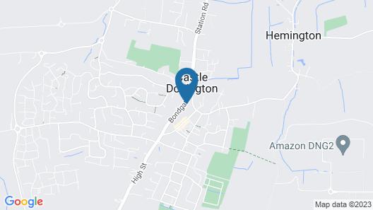 Bondgate Hotel East Midlands Airport Map