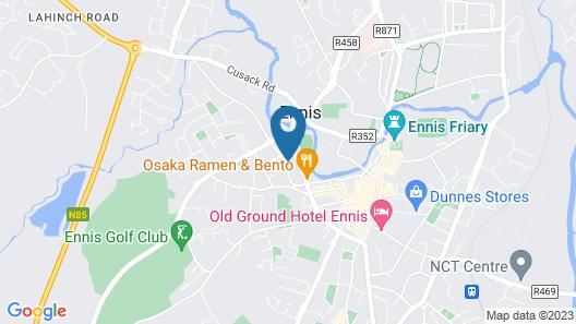 Ashford Court Boutique Hotel Map