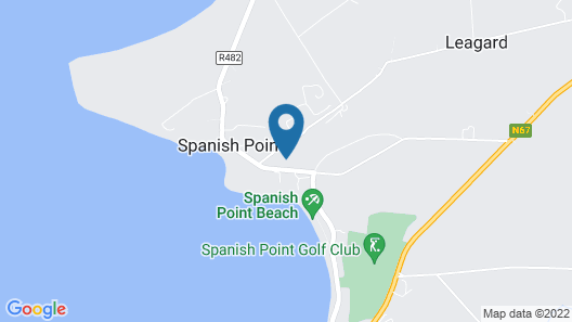Spanish Point House Map