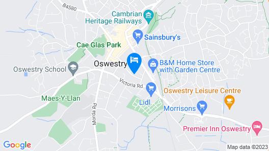 Chilton House B&B Map