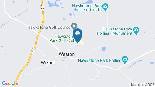 Hawkstone Park Hotel Map
