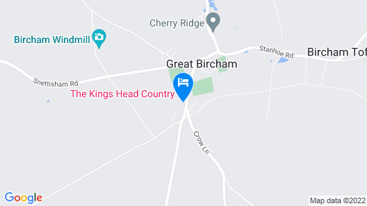 The Kings Head Country Hotel Map