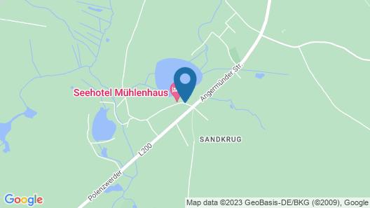 Seehotel Mühlenhaus Map