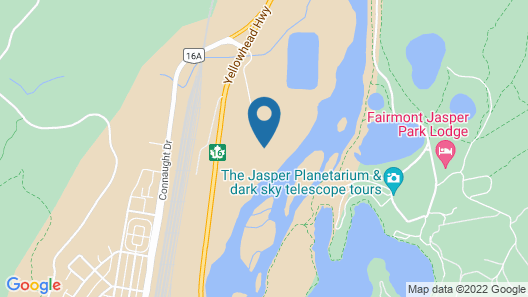 Pine Bungalows Map