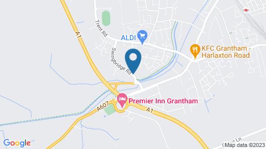 Urban Hotel Grantham Map