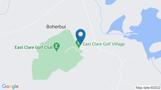 East Clare Golf Village by Legenda Tours Map