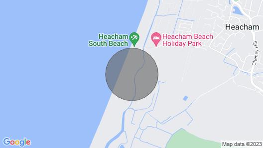4 Bedroom Beach Bungalow with Dog-friendly Garden on South Beach, Heacham Map
