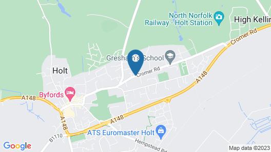 Holm Oaks Map