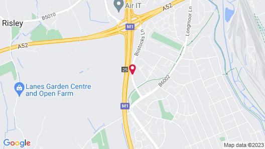 Novotel Nottingham Derby Map