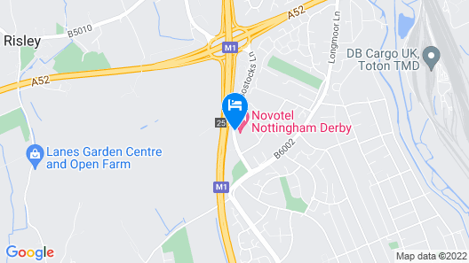 Novotel Nottingham Derby Map