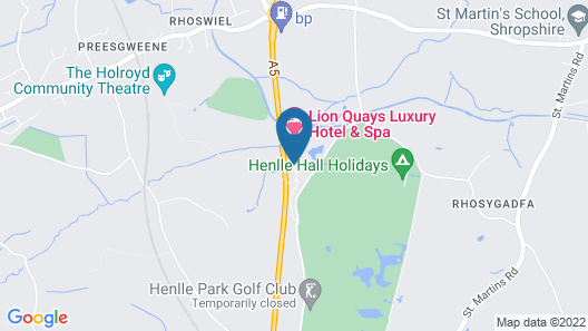 Lion Quays Hotel & Spa Map