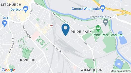 pentahotel Derby Map