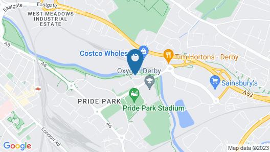 Sleep Inn Derby Map
