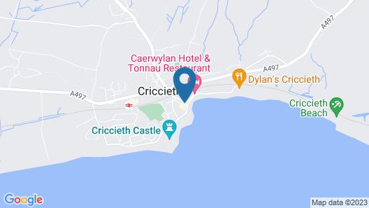 The Moelwyn Hotel & Restaurant Map