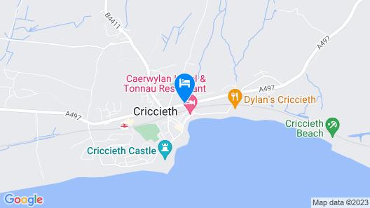Glyn-y-coed Hotel Map