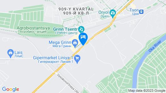 Hotel Complex GRINN Map
