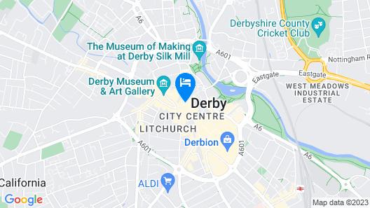Derby Apartments DE1 Map