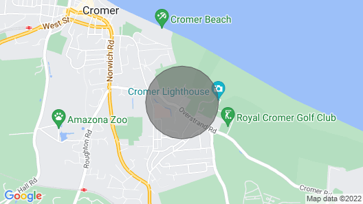 107 Kings Chalet Park -  a holiday chalet in Cromer Map
