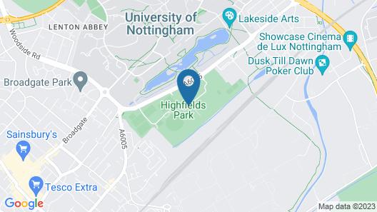 De Vere Orchard Hotel Map