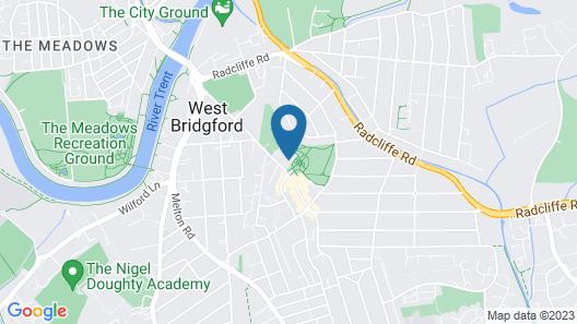 Birchover Bridgford Hall Map