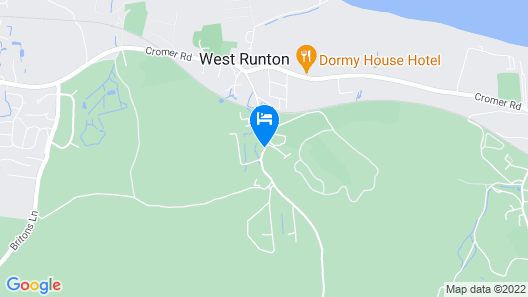 The Links Country Park Hotel Map