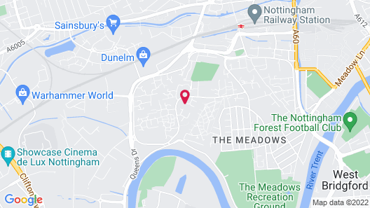 Beautiful 4-bed House in Nottingham Map