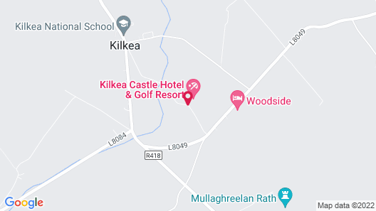 The Lodges at Kilkea Castle Map