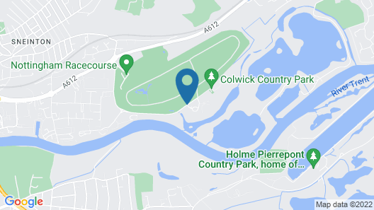 Colwick Hall Hotel Map