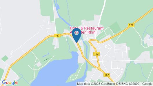 Hotel & Restaurant Am Alten Rhin Map