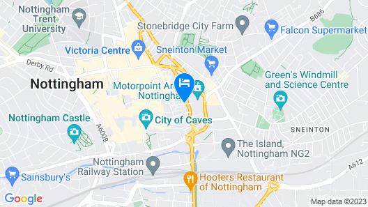 Magical Penthouse Next to Arena Map