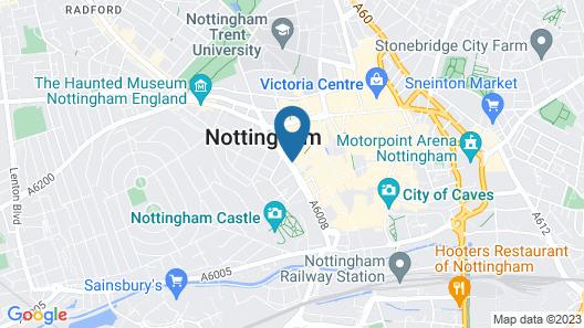 Park Plaza Nottingham Map